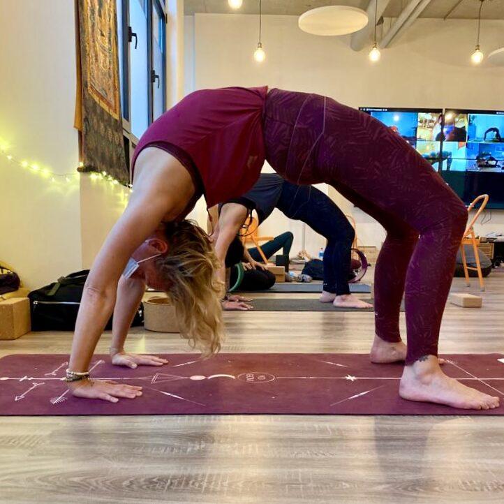 Yoga - la roue
